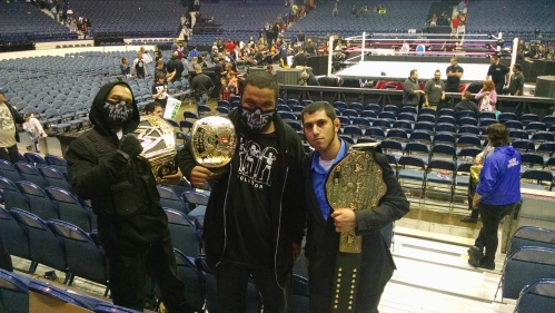 Shield members Joesph and Jonathon along with The King of Kings.