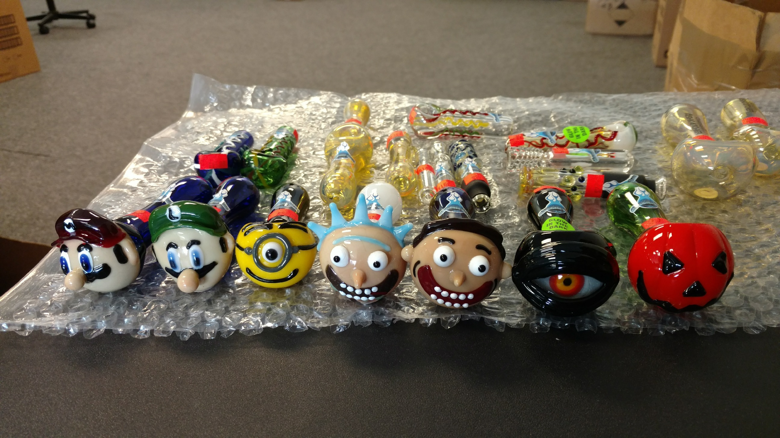 Rick And Morty Christmas Ornaments.More Rick And Morty Pipes Along With Others Have Just