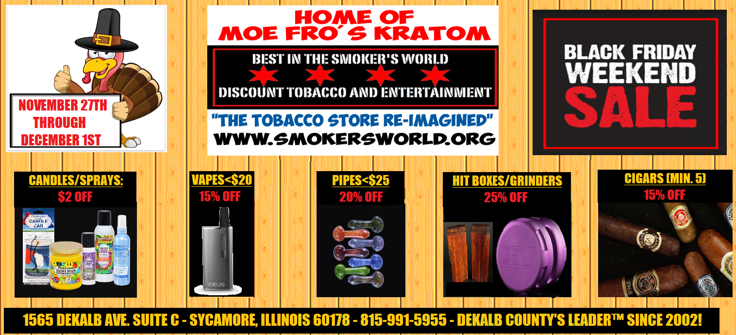 The Annual Black Friday Weekend Sale Is Nigh November 27th Through December 1st Best In The Smoker S World Llc